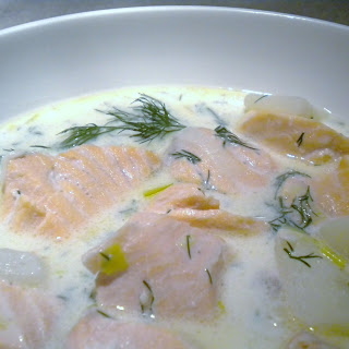 Very Simple Salmon Chowder.