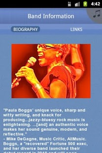Paula Boggs Band - screenshot thumbnail