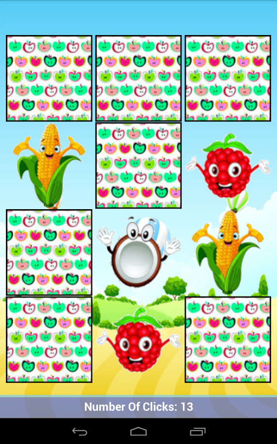 Fruits & Animals Memory Match - screenshot