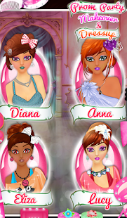 Prom Party Makeover & Dressup- screenshot thumbnail