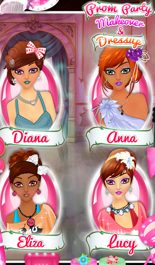 Prom Party Makeover & Dressup- screenshot