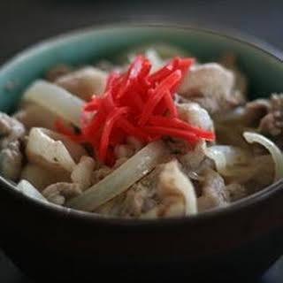 Japanese Ginger Pork.