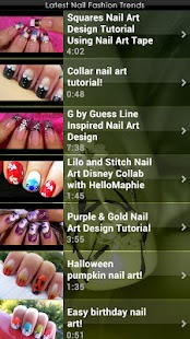 Latest Nail Fashion Trends - screenshot thumbnail