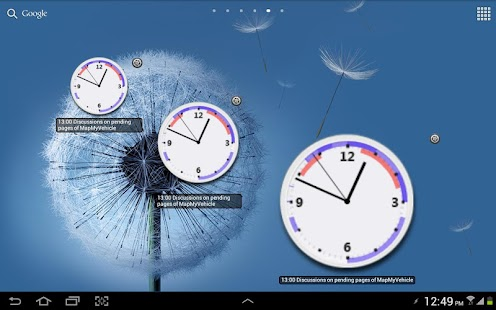 Business Clock Widget - Free- screenshot thumbnail