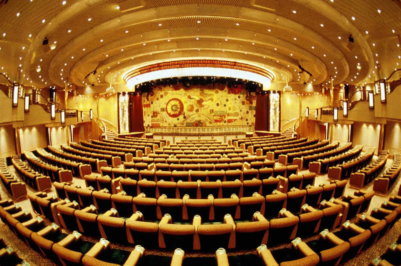 Head to the Enchantment of the Seas' theater for musical performances and theatrical productions.