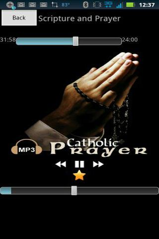 Audio Catholic Prayer - screenshot