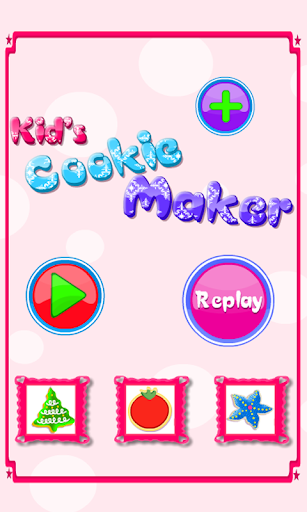 Kids Cookies Maker-Baking Game
