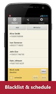 Blacklist Plus - Call Blocker Screenshot