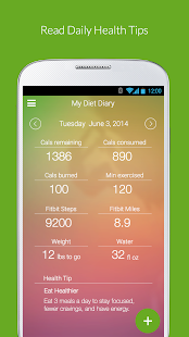My Diet Diary Calorie Counter- screenshot thumbnail