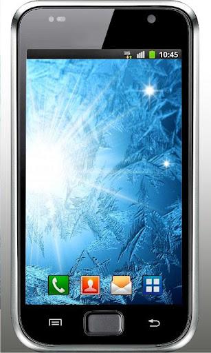 Winter Frozen Glass LWP
