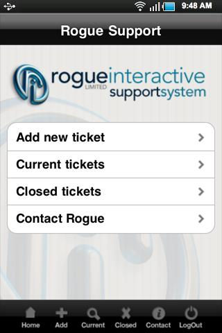 Rogue Support - screenshot