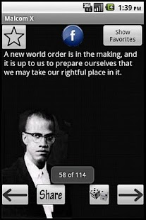 Malcolm X Quotes - screenshot thumbnail