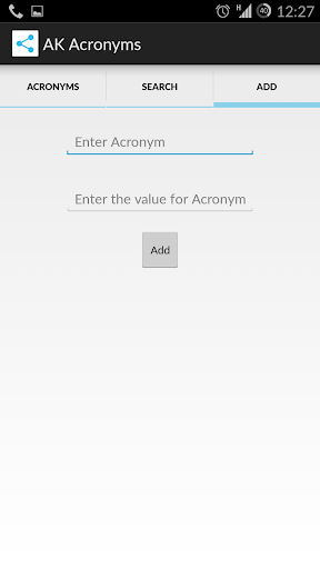 【免費教育App】Acronym App-APP點子