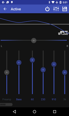 Material Dark Purple Theme - screenshot