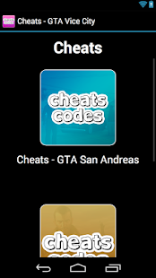 Cheats - GTA Vice City - screenshot thumbnail