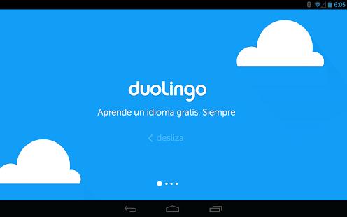 Duolingo - idiomas gratis Screenshot