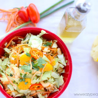 Chinese Chicken Salad with Mandarin Lemon Vinaigrette