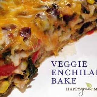 Vegetarian Enchilada Casserole.