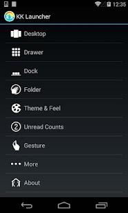 KK Launcher Prime - screenshot thumbnail