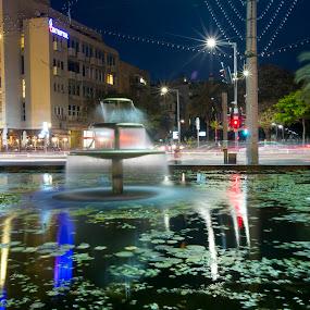 Tel Aviv by Edmar Colo - City,  Street & Park  Fountains
