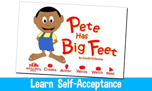 Pete Has Big Feet