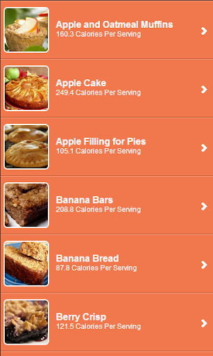 Low Calorie Desserts Recipes