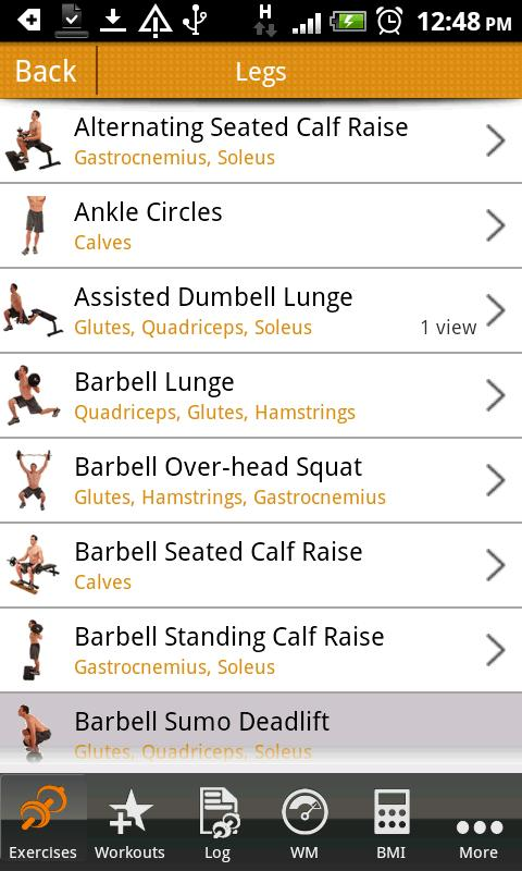 aFitness Light-Workout,Fitness - screenshot