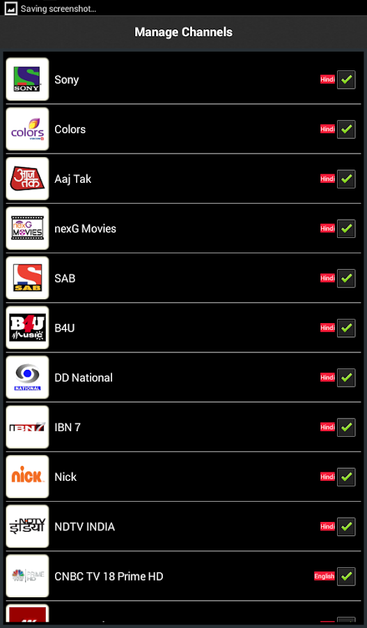 nexGTv : Mobile TV, Live TV - screenshot
