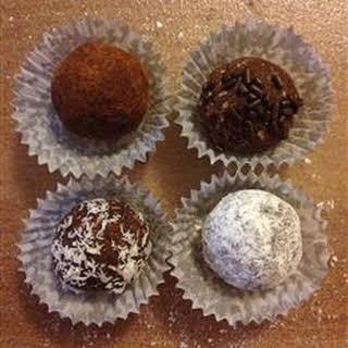 Cocoa Rum Balls.