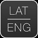 Dictionary Latin English icon