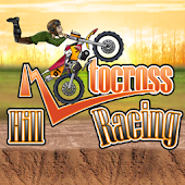 Motocross Hill Racing Game