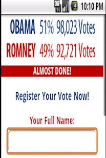 Presidential Election 2012 - screenshot thumbnail