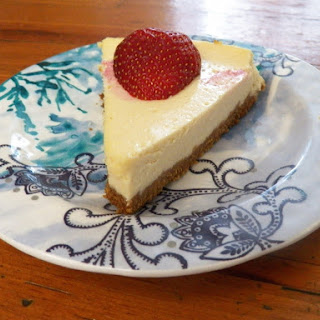 Greek Yogurt Cheesecake.