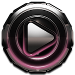 Poweramp skin Rose Glow v2.03