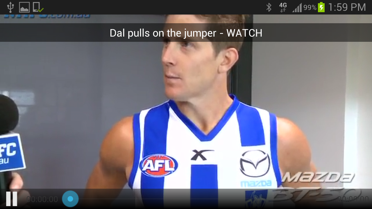 North Melbourne Official App - screenshot