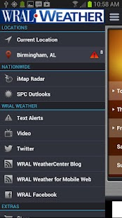 WRAL Weather Alert - screenshot thumbnail