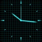 Laser Analog Clock