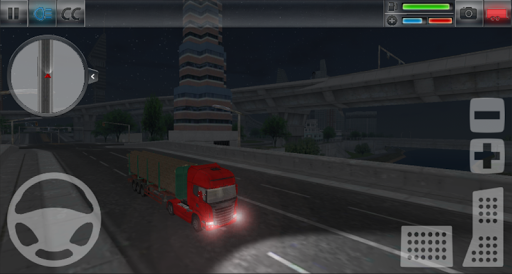 Truck Simulator : City 1.4 Cheat screenshots 2