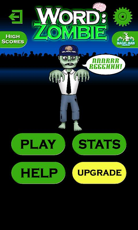Word Brain: Zombie - screenshot