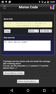 Morse Code- screenshot thumbnail