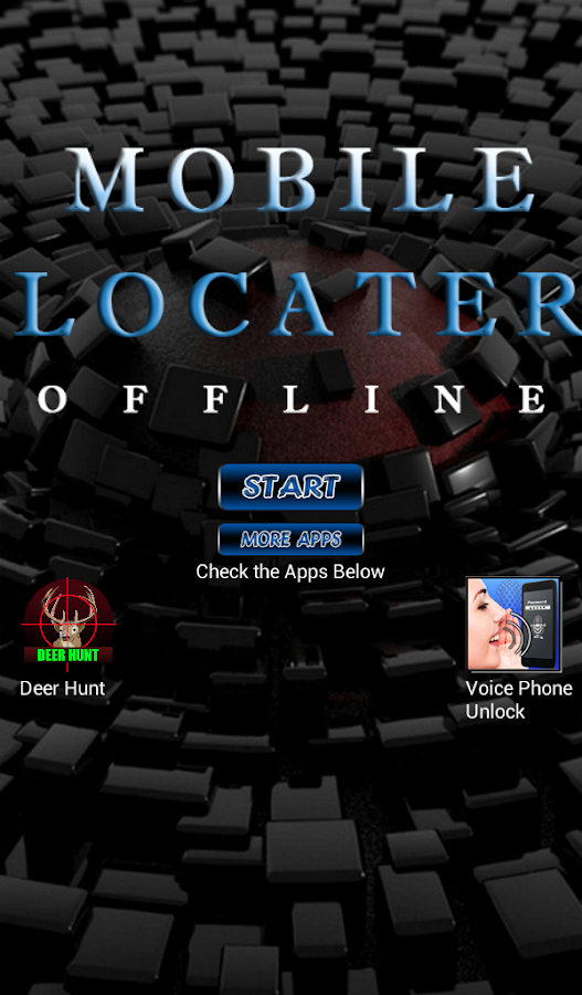 Mobile Locator Offline- screenshot