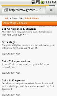 Game Cheats- screenshot thumbnail