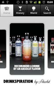 Drinkspiration by ABSOLUT - screenshot thumbnail