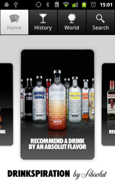 Drinkspiration by ABSOLUT - screenshot