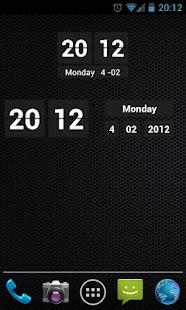 Digital Clock Widget - screenshot thumbnail