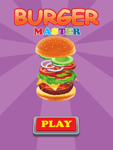 Burger Master Cooking Game