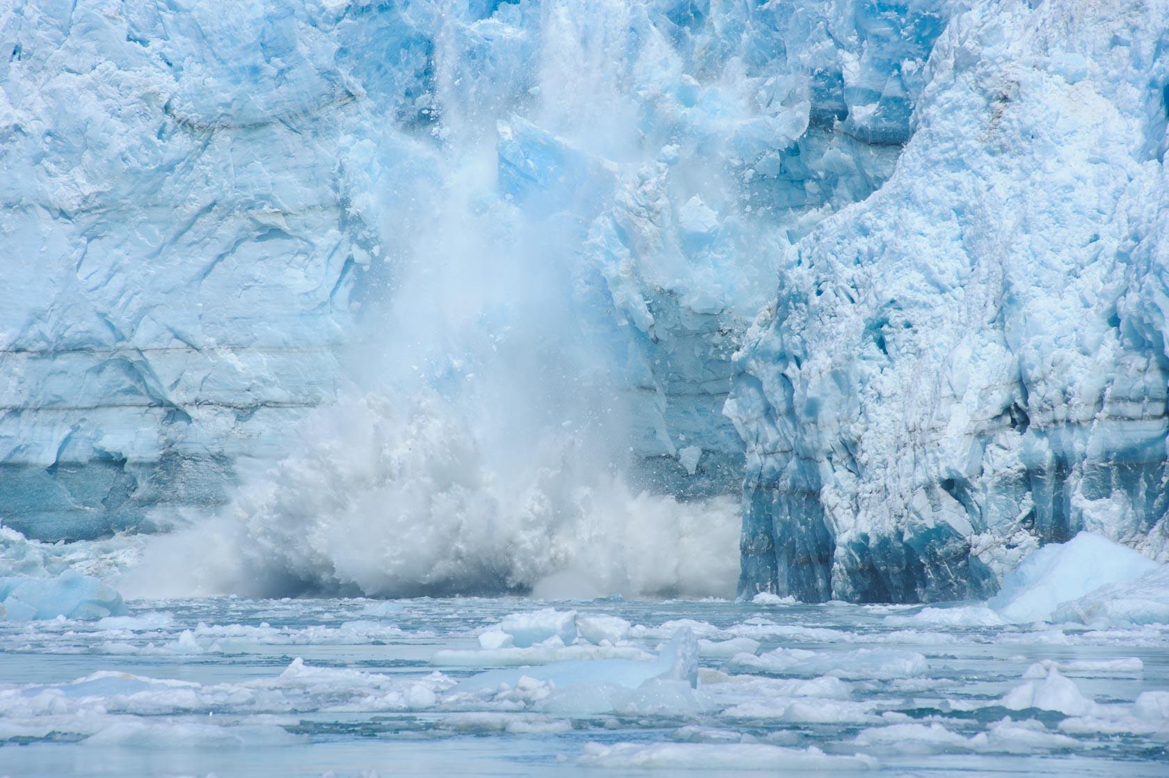 Hubbard Calving, Yakutat, Alaska