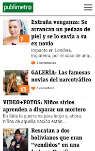 Publimetro Chile - screenshot thumbnail