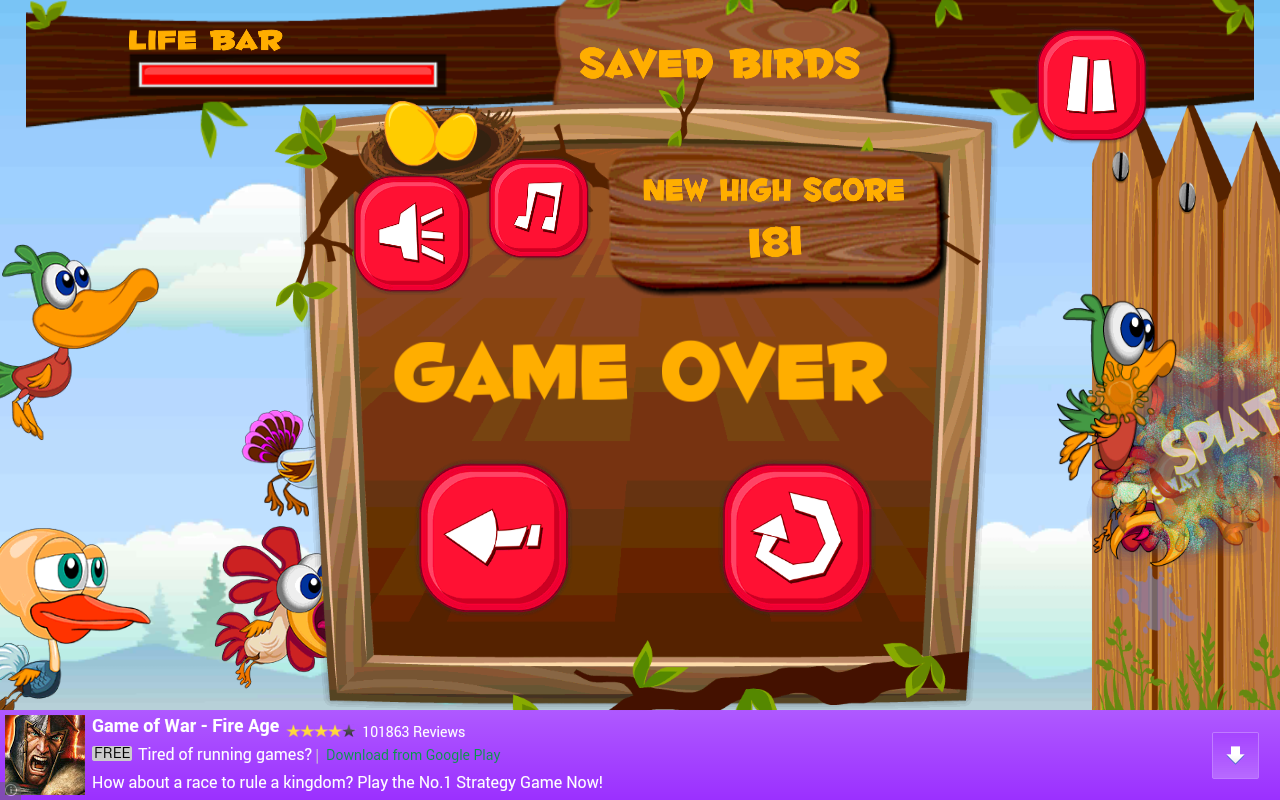 Wiggle Birds Android Apps On Google Play