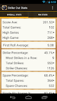 Screenshot of Strike Out Stats